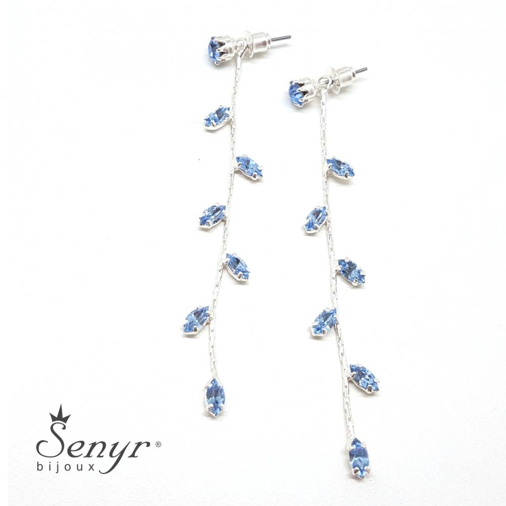 Bohemian crystal earrings ELEGANCE