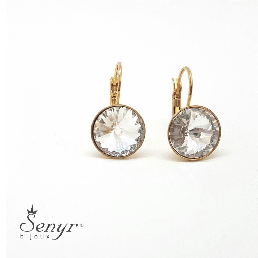 Bohemia crystal earrings SPARKLE gold