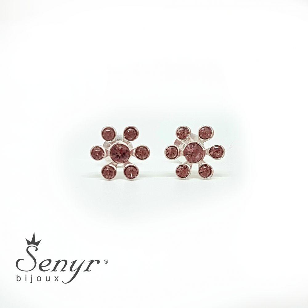 Bohemia crystal earrings Blossom