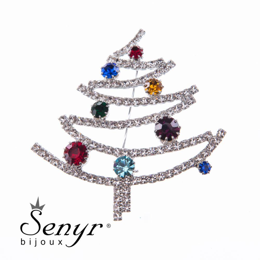 CHristmas tree brooche