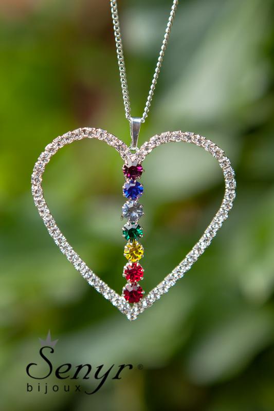 Čakrové srdce větší/ Chakra Heart big
