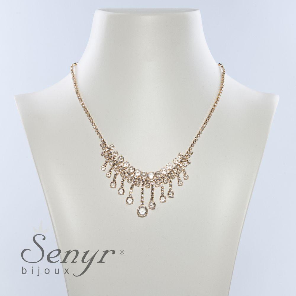 Necklace Golden Passion Translucent