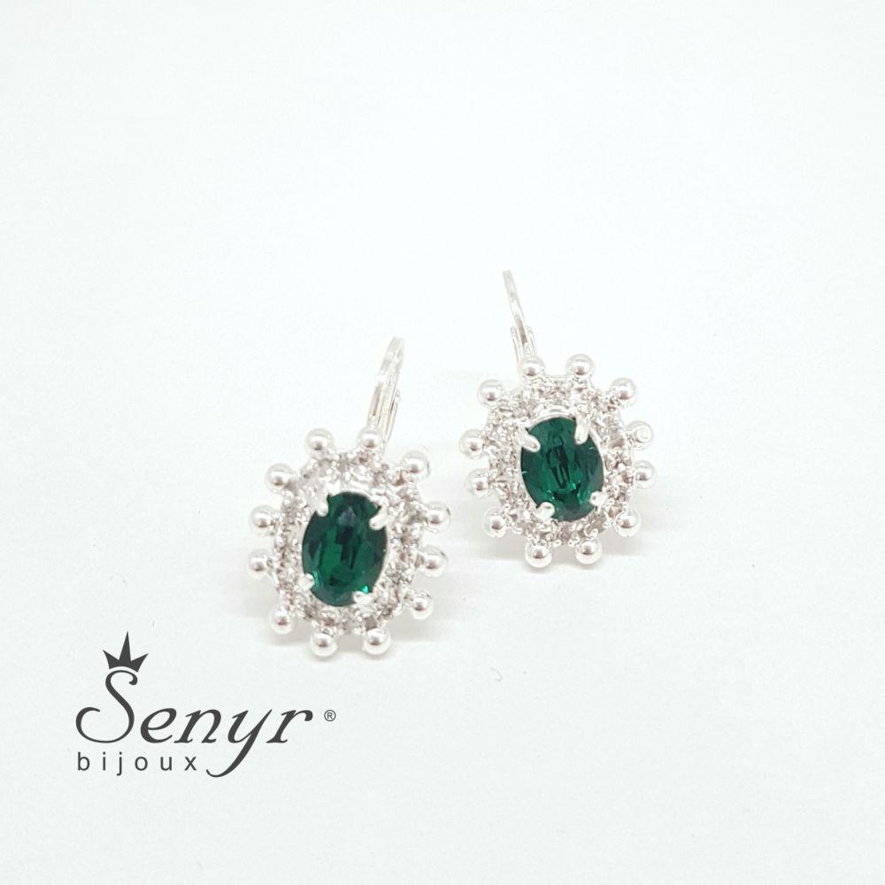 Bohemia crystal earrings Victory