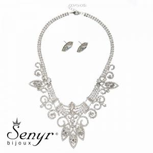 Set Luxury Neatness Crystal