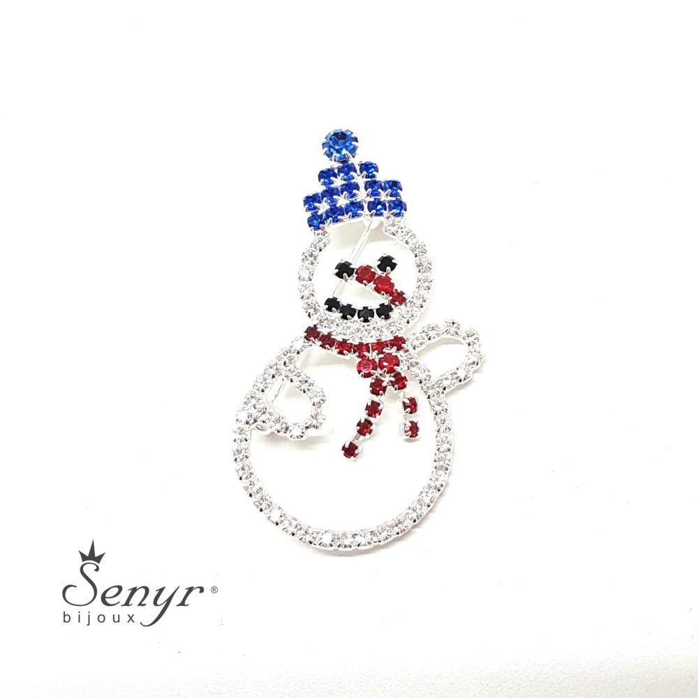 Brooch SNOWMAN