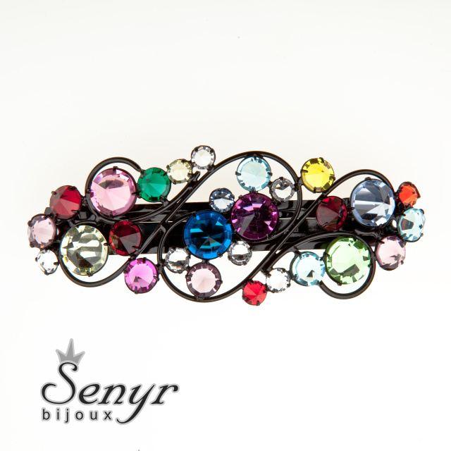 Hair clip Romantic Colours