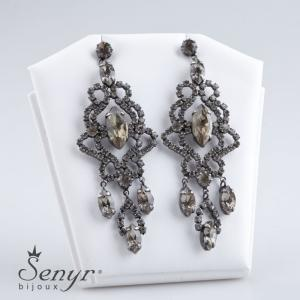 Earrings Magnificence Gray