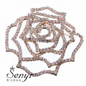 Deluxe brooch Rose